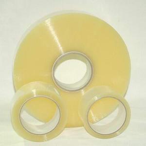 Băng keo cuộn lớn 1kg/cuộn lõi nhựa | Nhà sản xuất Băng keo Minh Sơn