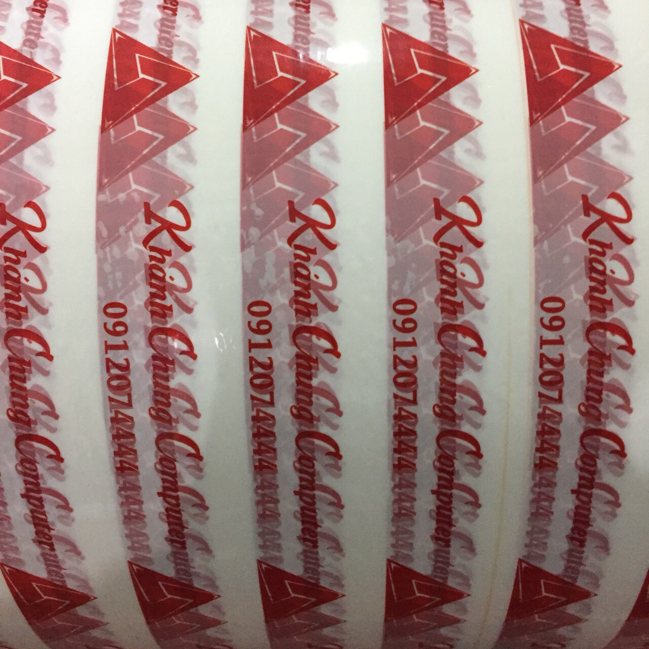 Băng keo in logo tại Minh Sơn | Nhà sản xuất Băng keo Minh Sơn