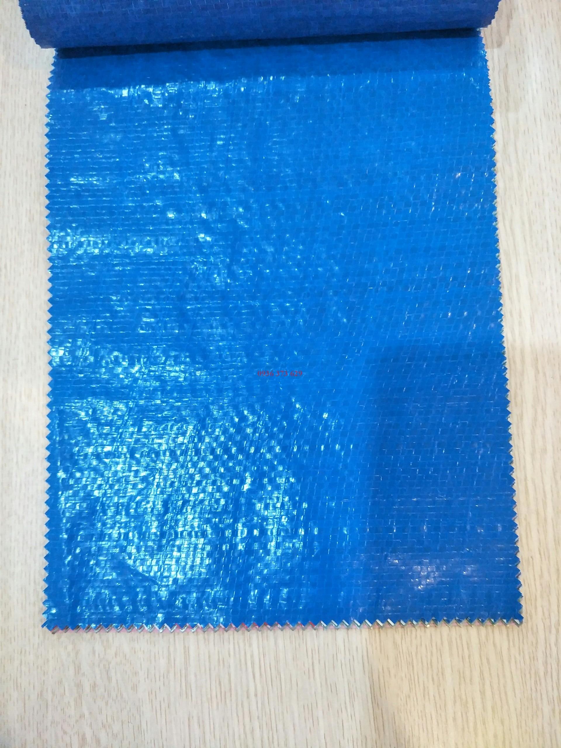 Bạt nhựa xanh dương hai mặt